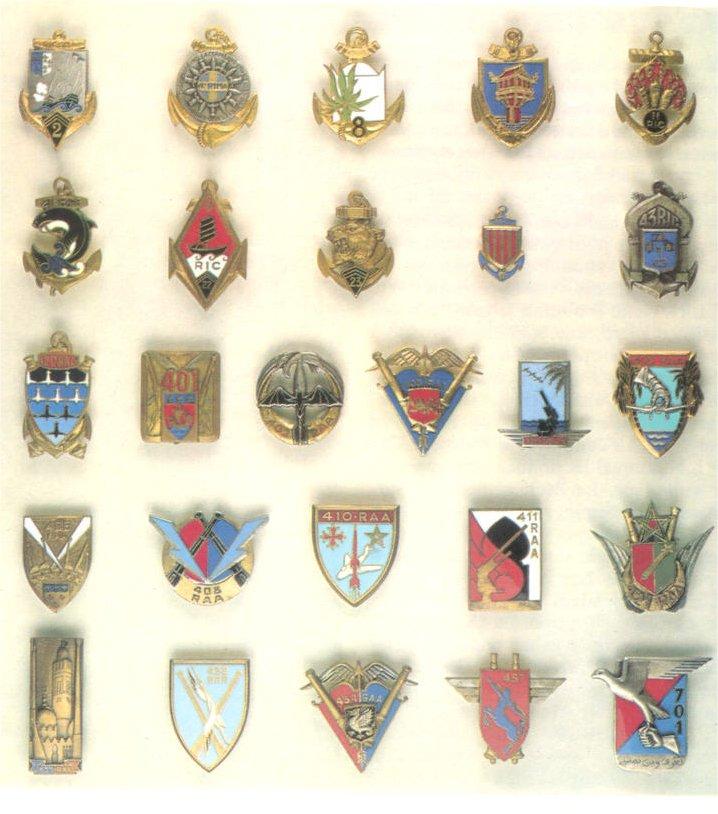 insignes de toutes les unités ayant servies en algérie Insign26