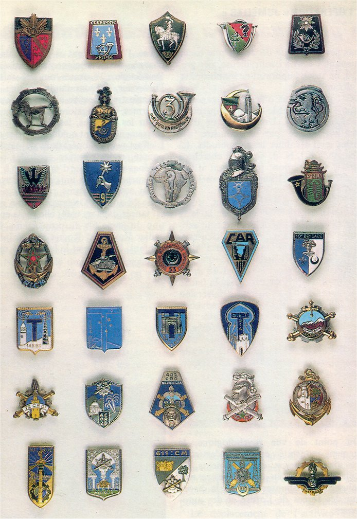 insignes de toutes les unités ayant servies en algérie Insign28