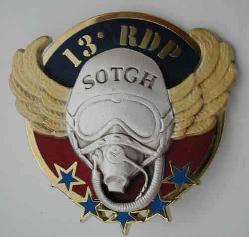 insignes du 13eme rdp Sotgh10