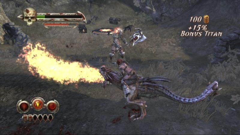 Test Golden Axe Beast Rider Xbox 360 Gaxex311