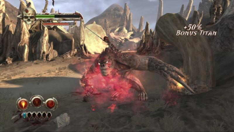 Test Golden Axe Beast Rider Xbox 360 Gaxex314