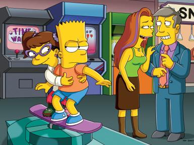 Aly dans les Simpson! Alyso103