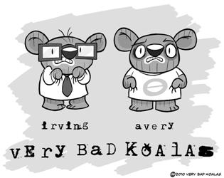 """[Nicholas Brendon] Il lance son Webcomic : """"Very Bad Koalas"""" Koalas10"""