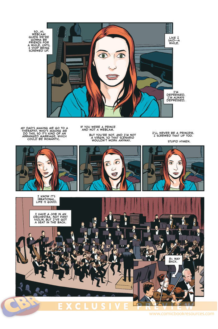 [Felicia Day] The Guild [Comics] Prv45212