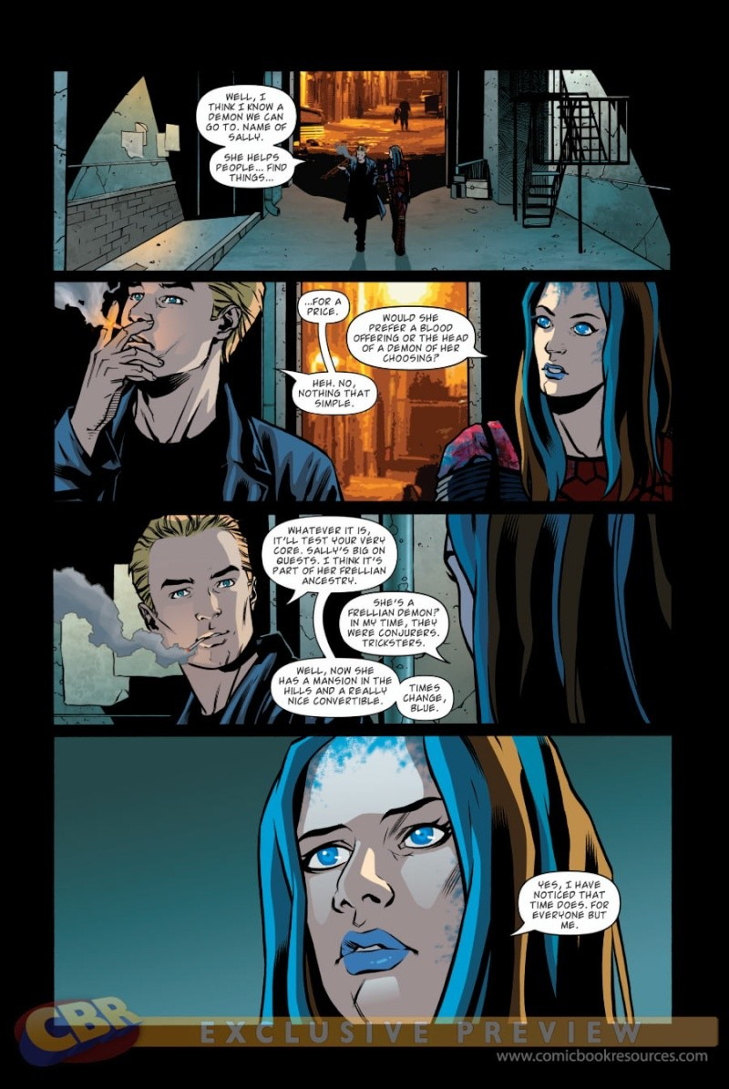 Illyria : les comics Prv72813