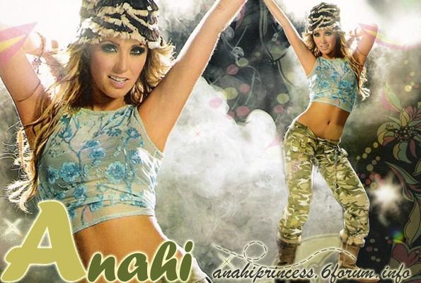 Anahi princess