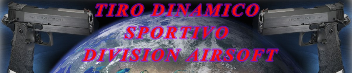 Tiro dinamico Sportivo division airsoft