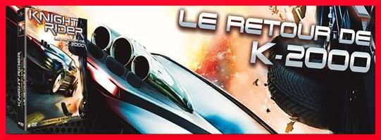 LE RETOUR DE K 2000 EN DVD 311-5213