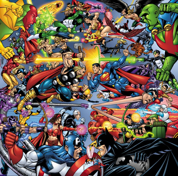 Universo DC Vs. Universo Marvel Jlavsa10