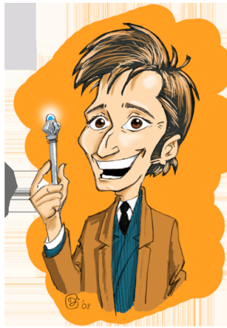 Caricatures Doctor Who (ou acteurs du Whoniverse) Doctor10