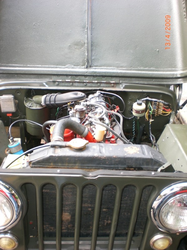 Vende-se Jeep Overland Ano 1951 Cimg6017