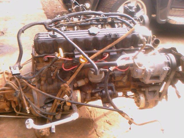 Estou vendendo a mecânica completa da Cherokee p/ colocar em quarquer 4x4 Imag0237