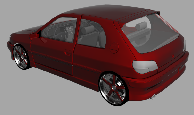 [WIP] Peugeot 306 - Page 2 306-1310