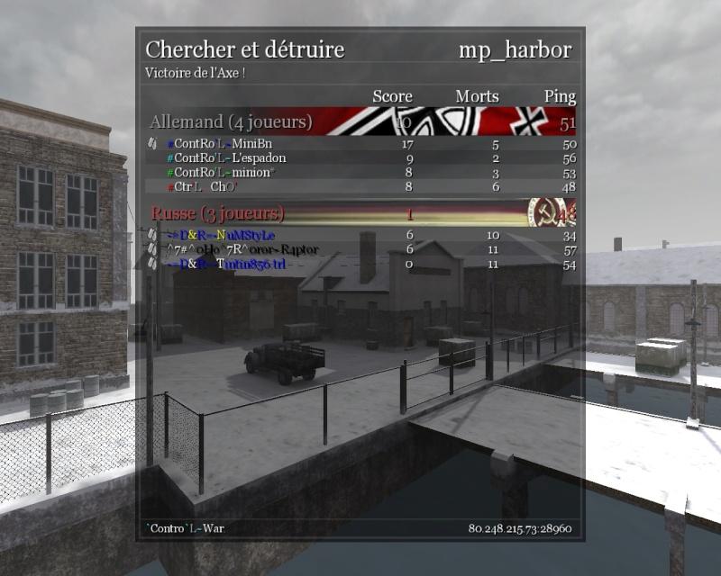 war vs D&R [win 20-3] Shot0097