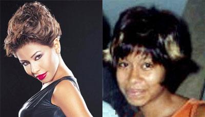 Photos des artistes avant et après Sherin10