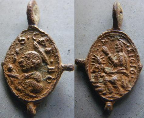 (de Elagabale : ma préférée) Médaille St-Charles-Borromée & ND-de-Rigio M610
