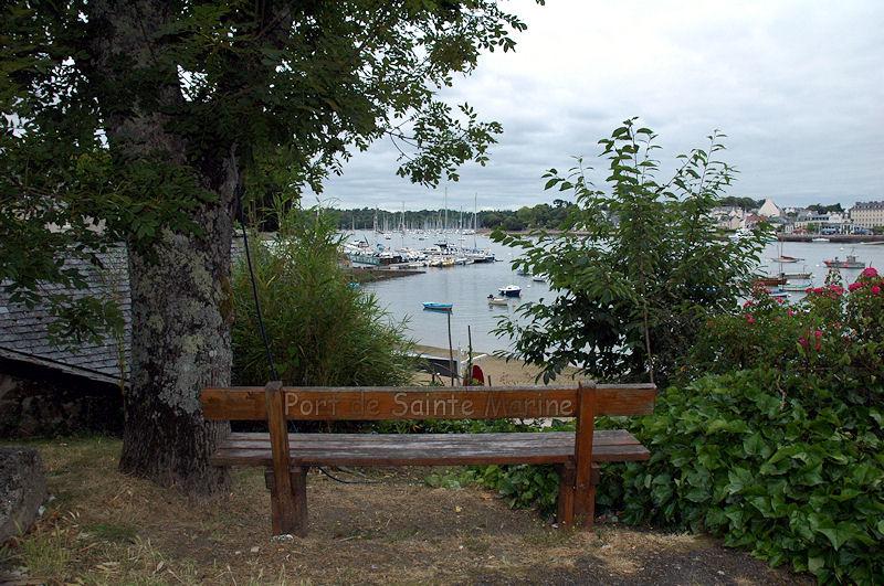 Port de sainte Marine Bretag33