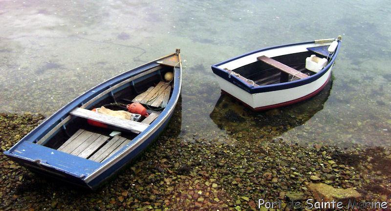 Port de sainte Marine Bretag34