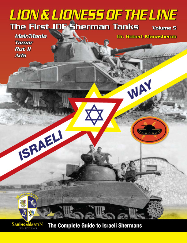 New book on Shermans in Israeli service Idf-sh10