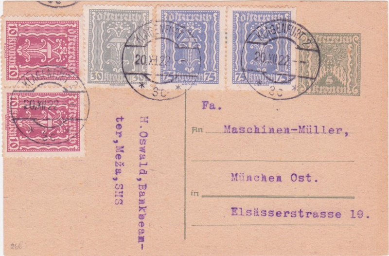 """Postkartenserie """"Quadratischer Wertstempel - Wertziffer im Dreieck"""" 1922-24 - Seite 4 192210"""