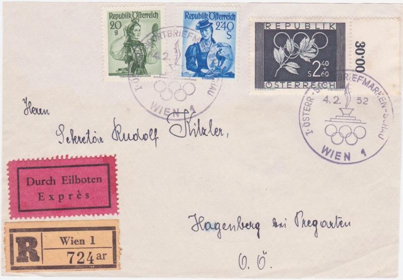 Trachtenserien ANK 887 - 923 und 1052 - 1072 Belege - Seite 5 195210