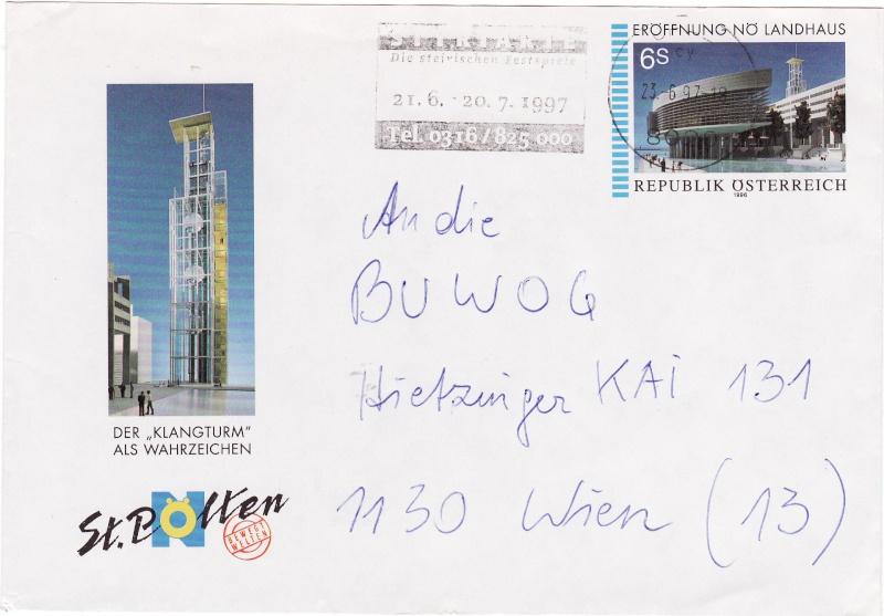 Amtliche Briefumschläge Republik Österreich, gelaufen Img18