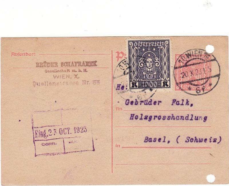 """Postkartenserie """"Quadratischer Wertstempel - Wertziffer im Dreieck"""" 1922-24 - Seite 2 Img34"""