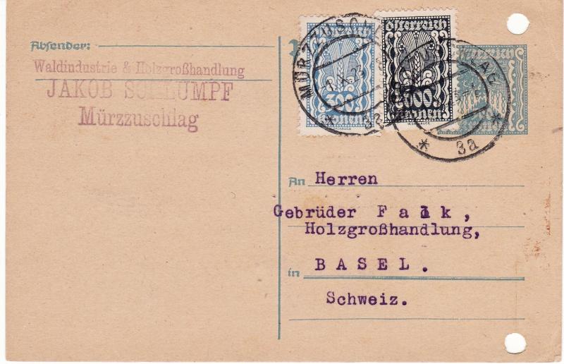 """Postkartenserie """"Quadratischer Wertstempel - Wertziffer im Dreieck"""" 1922-24 - Seite 3 Img40"""
