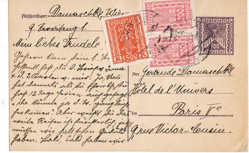 """Postkartenserie """"Quadratischer Wertstempel - Wertziffer im Dreieck"""" 1922-24 - Seite 3 Img49"""