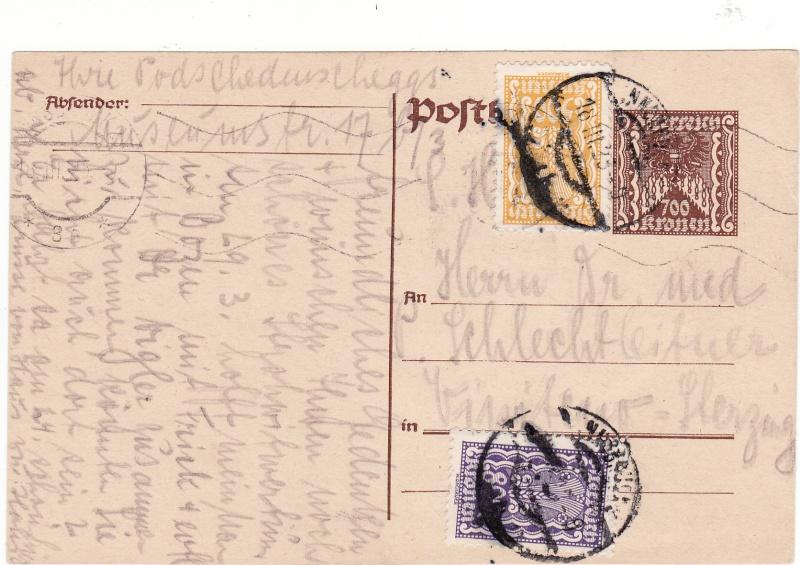 """Postkartenserie """"Quadratischer Wertstempel - Wertziffer im Dreieck"""" 1922-24 - Seite 3 Img64"""