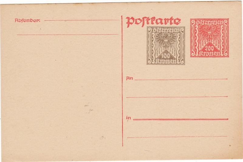 """Postkartenserie """"Quadratischer Wertstempel - Wertziffer im Dreieck"""" 1922-24 Img_0013"""