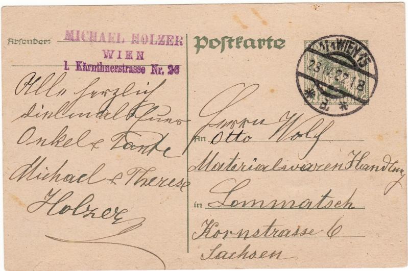 """Postkartenserie """"Quadratischer Wertstempel - Wertziffer im Dreieck"""" 1922-24 Img_0015"""