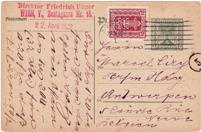 """Postkartenserie """"Quadratischer Wertstempel - Wertziffer im Dreieck"""" 1922-24 Img_0017"""