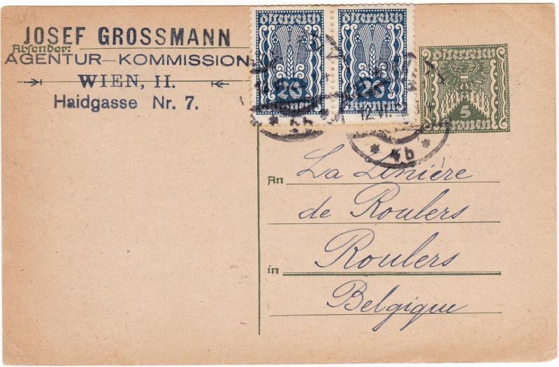"""Postkartenserie """"Quadratischer Wertstempel - Wertziffer im Dreieck"""" 1922-24 Img_0019"""
