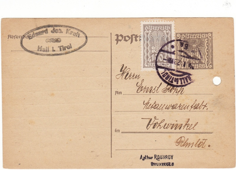 """Postkartenserie """"Quadratischer Wertstempel - Wertziffer im Dreieck"""" 1922-24 - Seite 2 Img_0047"""