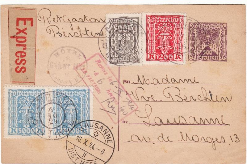 """Postkartenserie """"Quadratischer Wertstempel - Wertziffer im Dreieck"""" 1922-24 - Seite 3 Img_0085"""