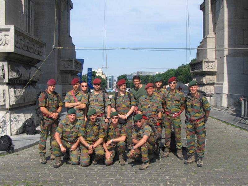 Para-Commandos au 20 km de Bruxelles 01110