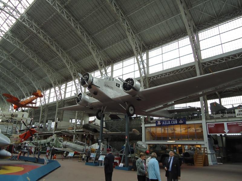 Le Junker 52 au musée de l'Armé à Bruxelles. Dsc00010