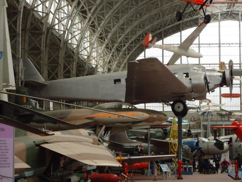 Le Junker 52 au musée de l'Armé à Bruxelles. Dsc00012