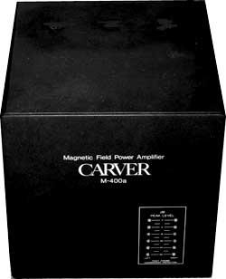 Ampli in classe D, valvole e musicalità Carver10