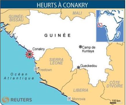Guinée:  Régime politique et élections présidentielles  41863610