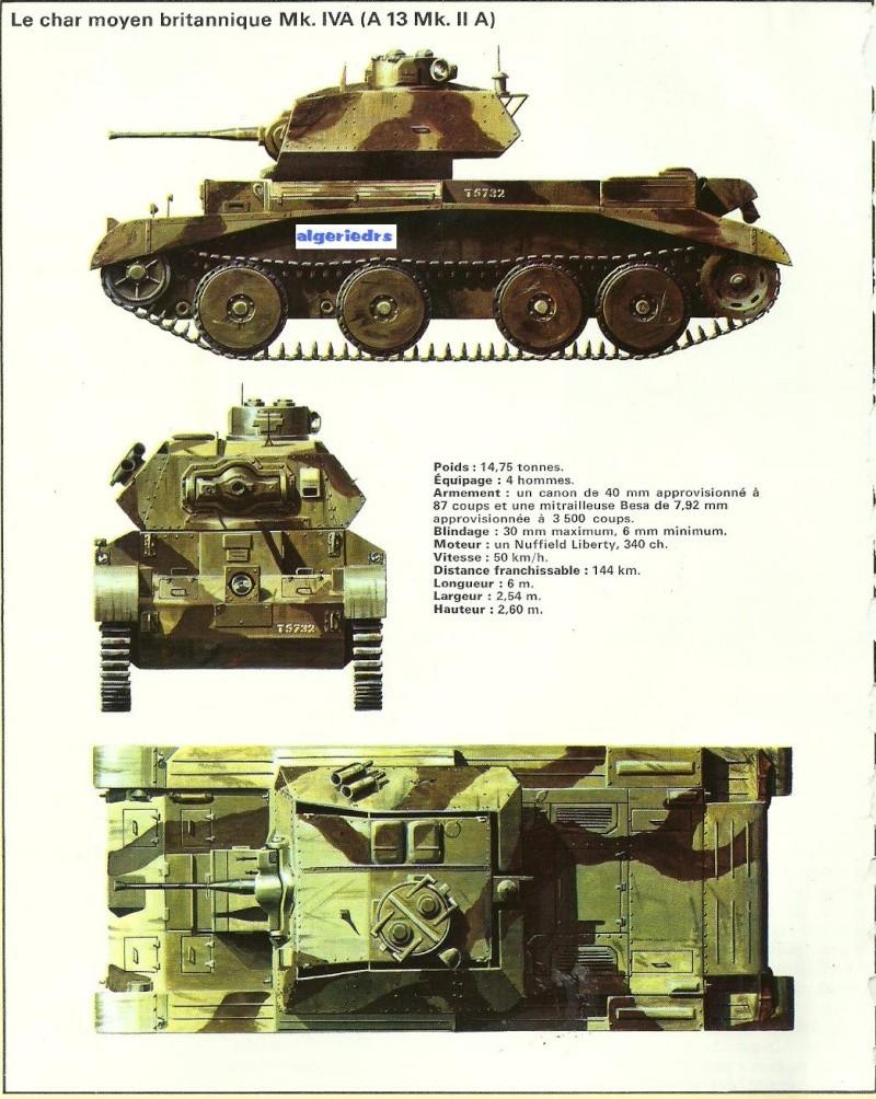 Chars de combat des deux-guerres mondiales - Page 2 Algere10
