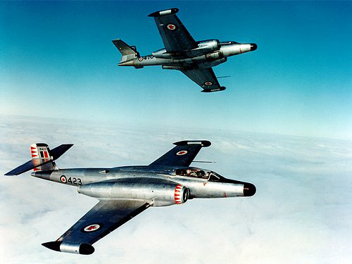 Fabrication d'avions militaire canadienne Cf-10010