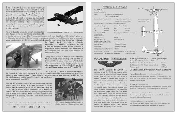 ATTN L-5 pilots / owners Stinso11