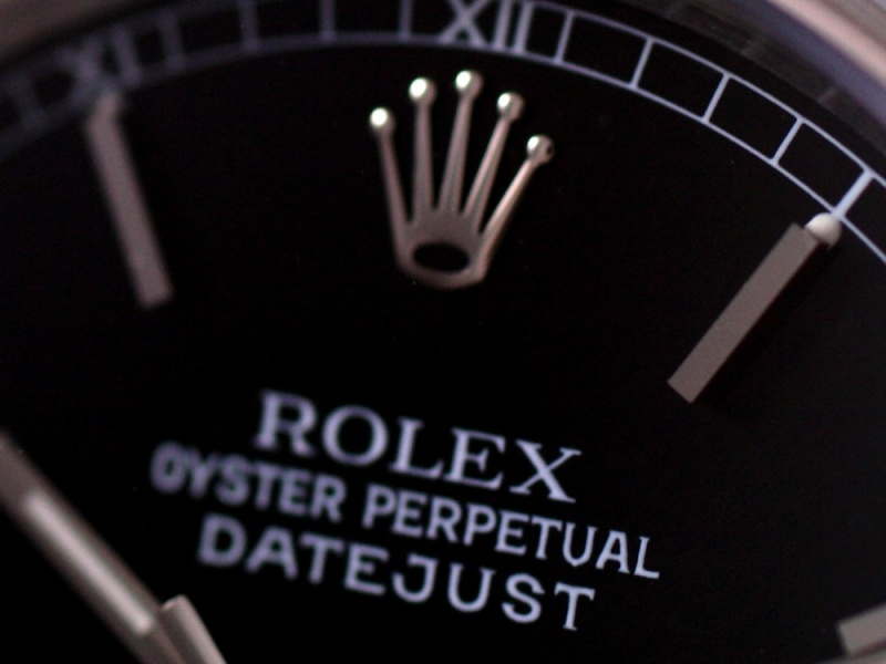 (Vendue) Rolex 16200 Datejust cadran noir laqué Img_1127