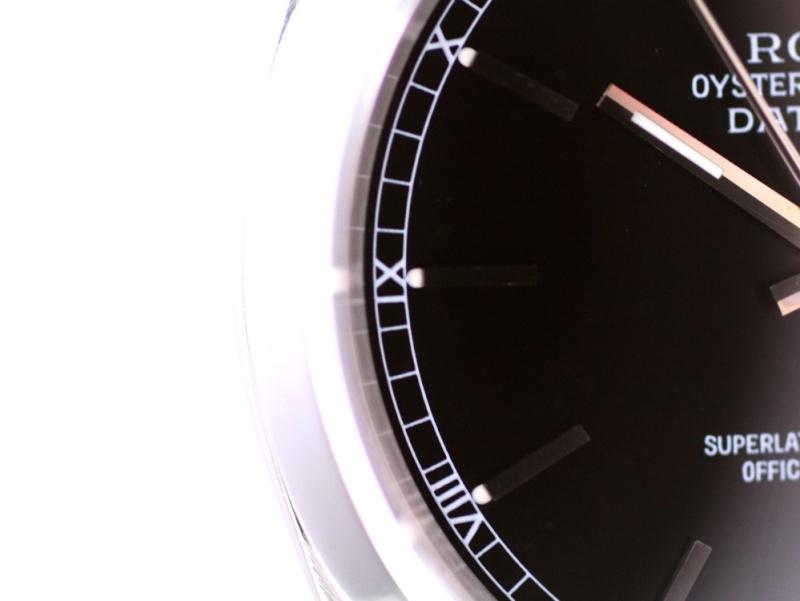 (Vendue) Rolex 16200 Datejust cadran noir laqué Img_1128