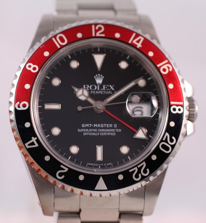 (Vendue) Rolex Gmt Master 2 - 16710 cad. tritium Img_1136