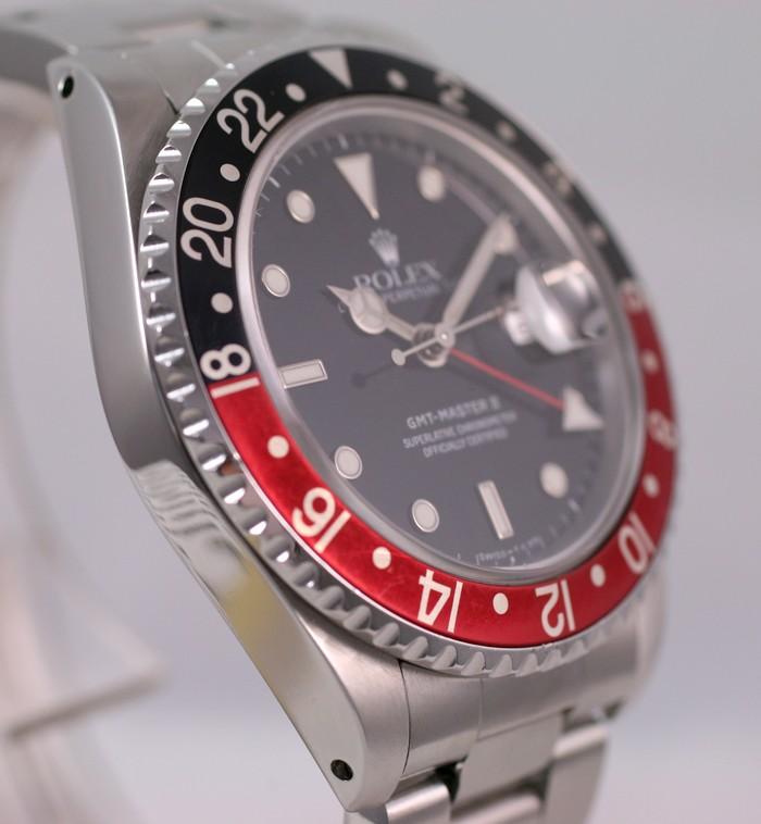 (Vendue) Rolex Gmt Master 2 - 16710 cad. tritium Img_1137