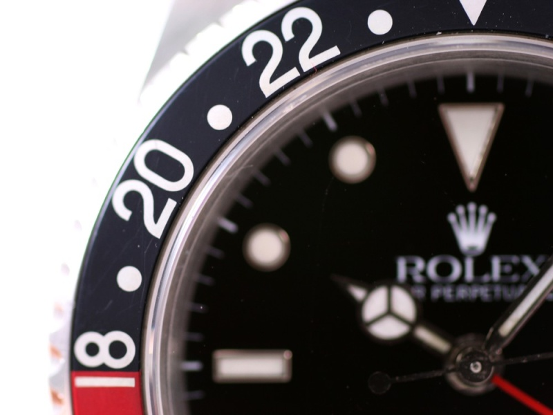(Vendue) Rolex Gmt Master 2 - 16710 cad. tritium Img_1139