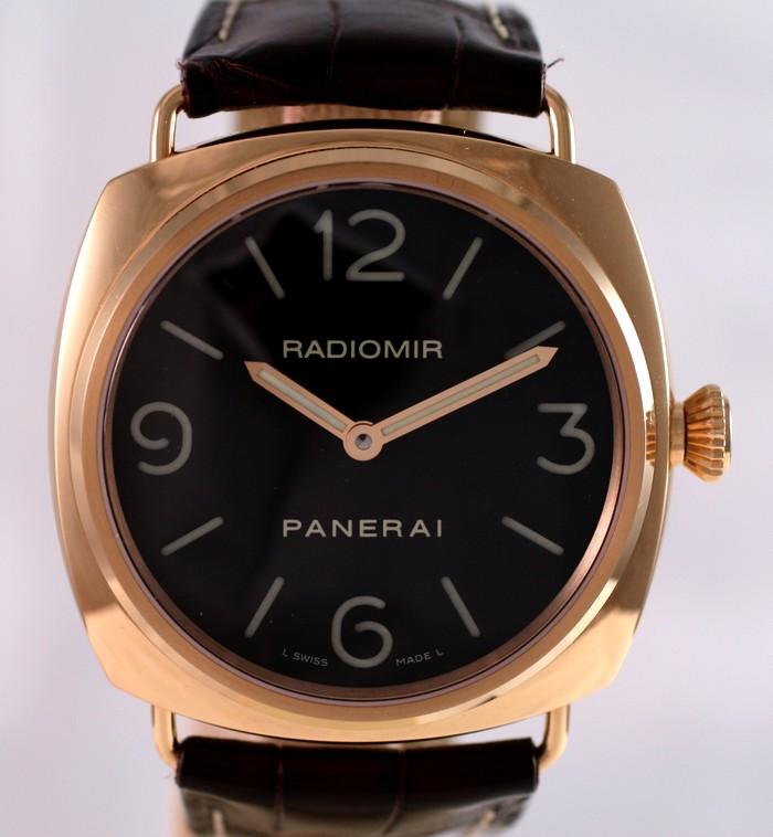 (Vendue) Panerai Radiomir Or rose    Réf : Pam 231 Img_5310